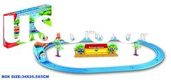 Electric Thomas toy train with track play set