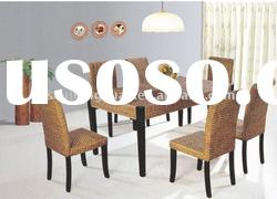 Excellent Luxury Dining Room Table And Chair Set (3032-Float Grass)