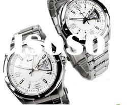 Fashion 3atm water resistant stainless steel watch case