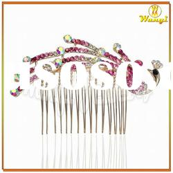 Fashion Rhinestones Hair Comb