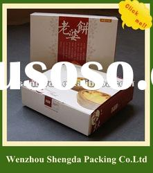 Foldable Paper Cake Packaging Box