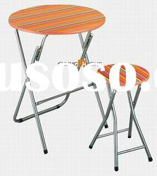 Folding Kids Plastic Table and Chair Set