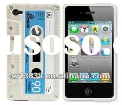 For apple Iphone 4 case,Cassette Tape cover Retro Cassette Tape Case for apple iphone 4