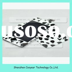 For iPhone 4S Glass Colors Black-White Dalmatian Kits