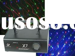 Full color mini laser show system