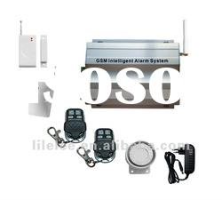 GSM Alarm System for Household/Business Office Security,GSM wired and wireless alarm