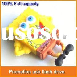 Good supplier spongebob usb flash drive Accept ESCROW paypal