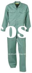 Green construction Jumpsuits boiler suits workwear uniforms industrial uniform