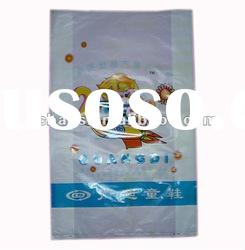 HDPE plastic shopping bag,handle bag,flat bottom bags