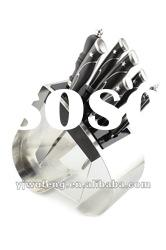 Heart Shape Knife Block With 5PCS Kitchen Knives