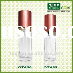 High Quality OTA Cosmetic Glass Lotion Pump Bottle