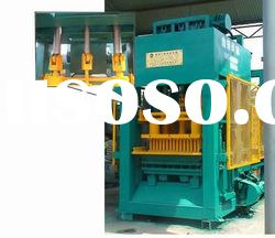 High efficiency mobile concrete block making machine