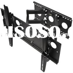 Hot Selling Wooden stud Dual Arm LCD TV Wall Mount Bracket