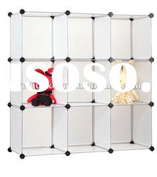 Household PP plastic combined storage cabinet