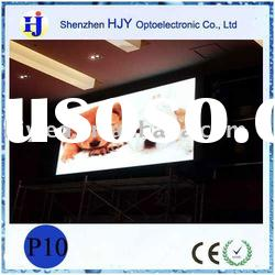 Indoor commercial advertising show PH10 RGB led video screen