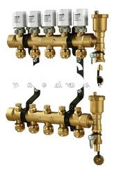 Intelligent manifold Valve with electric actuator