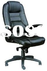 J-027A-1 black leather office adjustable chair