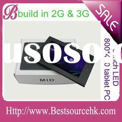 """LED 7"""" Tablet PC Phone MID ALLWINNER A10 with 2G & 3G phone function"""