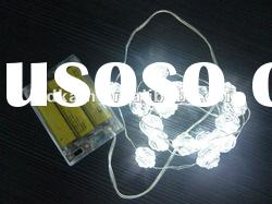 LED decoration light by battery operated