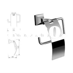 Lid Toilet Paper Holder with Nice design and by SS304,Mounting on the wall
