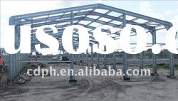 Light steel structure prefabricated workshop warehouse