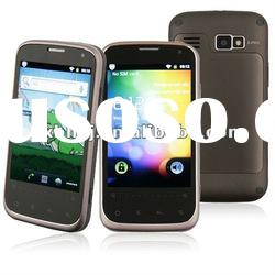 MTK6573 GPS WIFI 3G Bluetooth Multi language 3.5inch android 2.3 dual sim card cell phone B68M