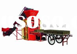 Manual brick and block machine in south africa QTJ4-26C(tianyuan made)