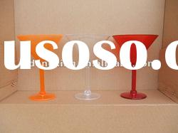 Martini glass, plastic martini, 300ml martini glass, plastic cups