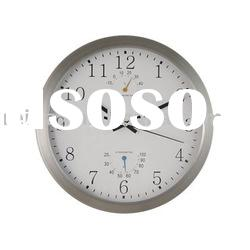 Metal Wall Clock with Hygrothermograph RT3026WH,Wall Clock,Quartz Wall Clock,REIDA Clock