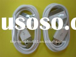 Mobile phone USB cable for iphone 3GS/4G/4S