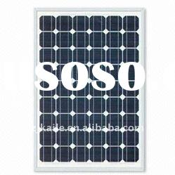 Monocrystalline Silicon Solar Panel Module with 125 x 125mm Cell Size and 150W Power