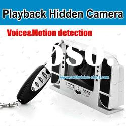 ND-668 Alarm Clock hidden camera with Motion and Voice Detection Nightvision and Playback