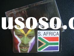 NEW! non-toxic face card for world cup South Africa