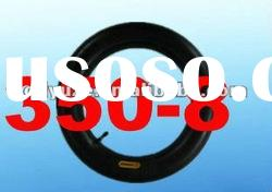 Natural rubber motorcycle inner tyre tube 350-8 TR13