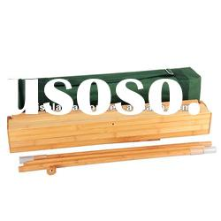 New ECO material Bamboo roll up banner stand/roll up display stand