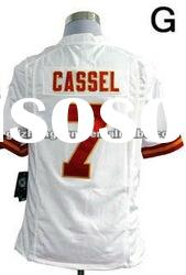 New style jersey Kansas City Chiefs 7 Matt Cassel Game White jersey name nad number are stitched