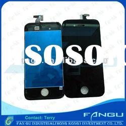 Original For iphone 4G Digitizer Touch Panel +LCD Display Screen Assembly Unit