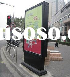 Outdoor Scrolling Advertising City Light Box