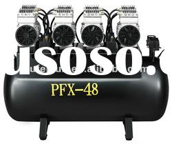 PFX-48 Silence Oil-free air compressor(One-driving-eight)