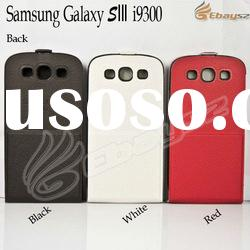 PU Leather Flip Case Cover Stand Case for Samsung Galaxy S3 i9300 LF-1367