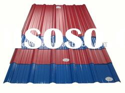 Plastic pvc color roofing tile