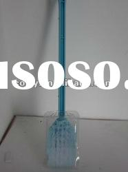 Plastic small & convenient Toilet brush holder with three mix colours