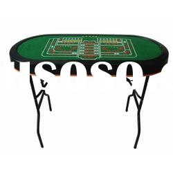 Poker table stainless steel poker leg 10persons shenzhen