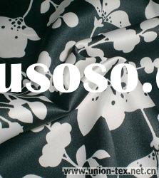 Polyester Spandex Printed Satin Fabric