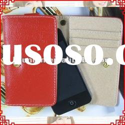 Popular Fromb Wallet Flip Leather Case for iphone 4 4s 4g
