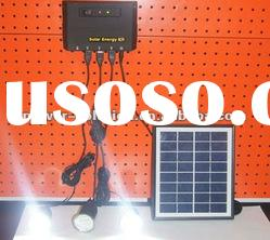 Portable Solar Power System for Rural Areas Home Lighting