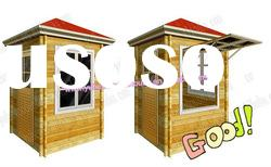 Prefab Mobile Wooden Sentry Box/Sentry House/Guard House