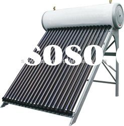 Pressurized compact solar water heaters for high pressure water