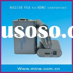 Professional VGA to HDMI converter with low price and good quality
