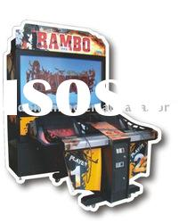 Rambo shooting vedio game machine